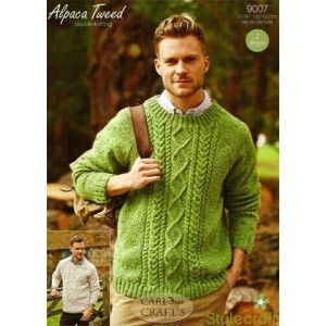 31392d3a1 Stylecraft alpaca tweed sweaters knitting pattern jpg 300x300 Tweed dk  alpaca sweater pattern