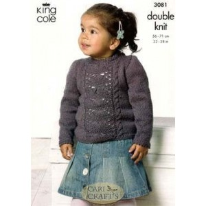 Knit a kid's cable sweater :: free knitting pattern