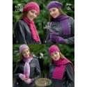 Double Knit Hats, Scarves & Gloves