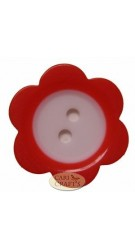 Flower Petal Shaped Buttons Pink