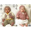 Bamboo Cotton 4ply Cardigans & Romper Suits
