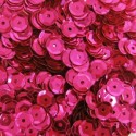 6mm Cupped Sequins Cerise
