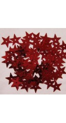 13mm Red Star Sequins