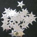 20mm Silver Star Sequins