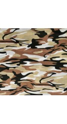 Blue Camouflage fabric
