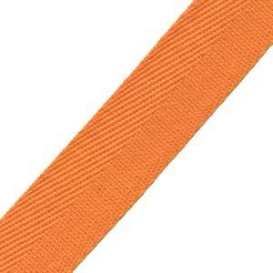 25mm Herringbone Tape Light Orange
