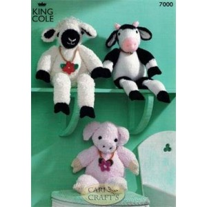 King Cole Sprinkles & DK 7000 Farmyard Collection Knitting Pattern