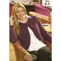 King Cole Double Knit & 4ply 3206 Cardigans Knitting Pattern