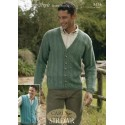 Sirdar Country Style DK Knitting Pattern 8434 Cardigan and Waistcoat