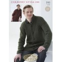 Sirdar Country Style DK Knitting Pattern 9365 Jackets
