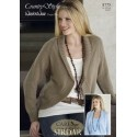 Country Style 4Ply Knitting Pattern 8775 Cardigans
