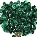 6mm Cupped Sequins Green