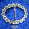 Oval Diamante Buckle Crystal
