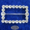 Round  Diamante Buckle Crystal