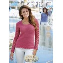 Sirdar Country Style 4Ply Crochet Pattern 9505 Sweater