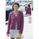 sirdar Country Style 4Ply Crochet Pattern 9506 Jacket