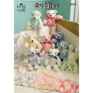 Cuddles Chunky Teddy Bear & Blanket