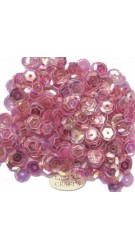 8mm Cupped Sequins Cerise