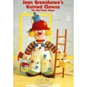Jean Greenhow's Knittede Clowns The Red Nose Gang Knitting Pattern Book