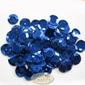12mm Cupped Sequins Blue