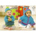 Baby Comfort Double Knit Cape, Sweater & Hat