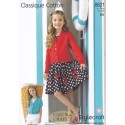 Style Craft Classique Cotton DK Knitting Pattern 8621 Cardigans