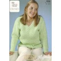 King Cole Magnum Chunky 2745 Sweaters Knitting Pattern
