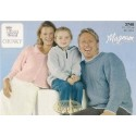 King Cole Magnum Chunky 2748 Sweater & Hooded Top Knitting Pattern