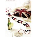 Congratulation & Union Jack Cushion