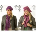 Double Knit Hats & Scarves
