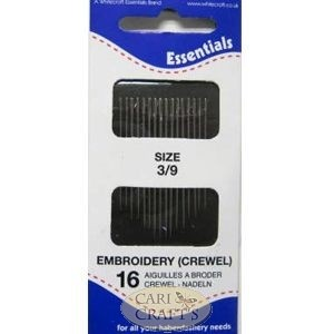 Size 5/10 Embroidery (Crewel) Needles