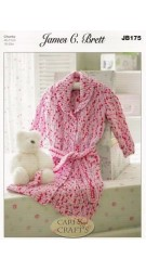 Flutterby Chunky Dressing Gown