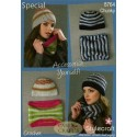 Special Chunky Crochet Beanie Hat & Cowl