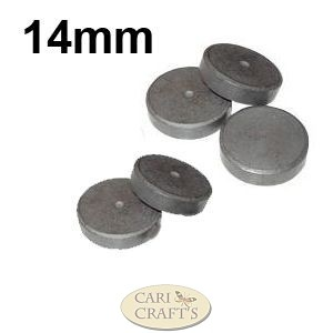 14mm Ferrite Disc Magnets