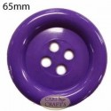 65mm 4 hole plastic Purple button