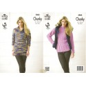 King Cole Big Value Chunky Sweater and Cardigan