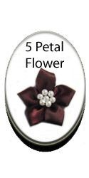 5 Petal Ribbon Flower