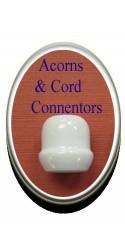 Acorns & Cord Connectors