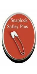 Snaplock Safety Pins